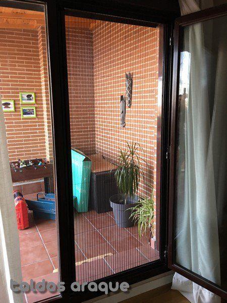 Empresa Toldos en Madrid toldos instaladores Araque Instalación de Mosquiteras Plisadas de 22mm en Valdemoro - Madrid Trabajos realizados