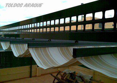 Empresa Toldos en Madrid  instaladores  PÉRGOLA 80 x 40