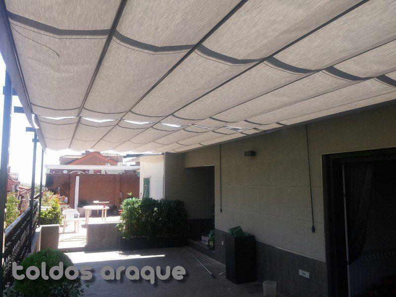 Empresa Toldos en Madrid toldos instaladores Araque Instalación de 2 pergolas en Leganes - Madrid Trabajos realizados