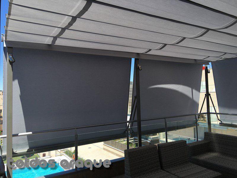 Empresa Toldos en Madrid toldos instaladores Araque Instalación de 4 pergolas y 5 toldos motorizado Trabajos realizados