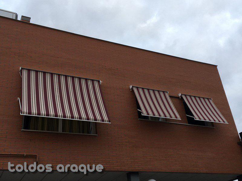 Empresa Toldos en Madrid toldos instaladores Araque Instalación de 3 toldos portada cofre en Valdemoro - Madrid Trabajos realizados