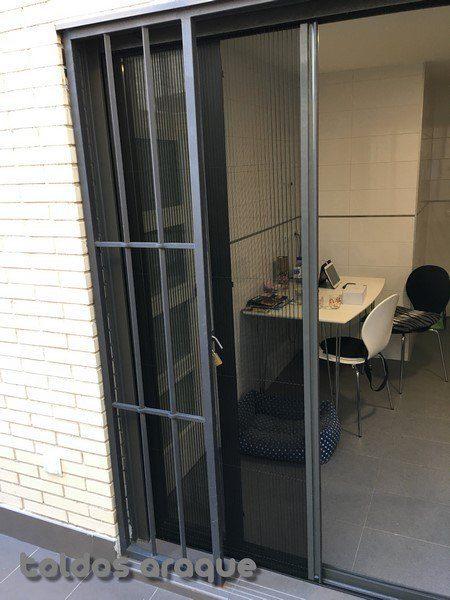 Empresa Toldos en Madrid toldos instaladores Araque Instalación de mosquiteras plisadas de 22mm en Madrid Trabajos realizados