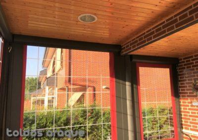 Empresa Toldos en Madrid  instaladores  TOLDO CORTAVIENTOS COFRE MADRID