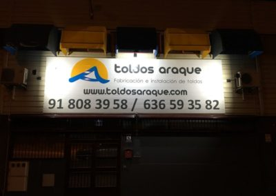 Empresa Toldos en Madrid  instaladores  NUESTRA FABRICA - Fábrica de toldos