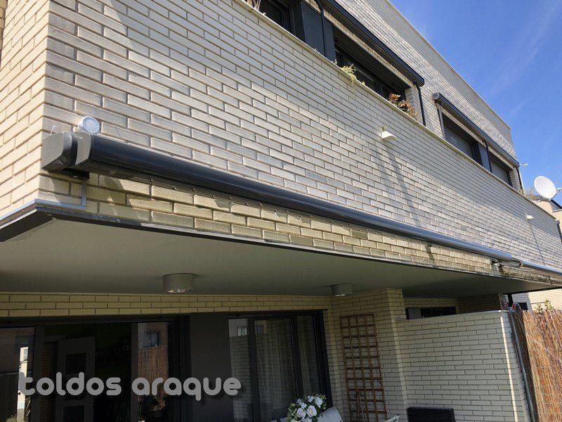 Empresa Toldos en Madrid toldos instaladores Araque Instalación de toldo portada cofre y toldo extensible cofre en Pinto - Madrid Trabajos realizados
