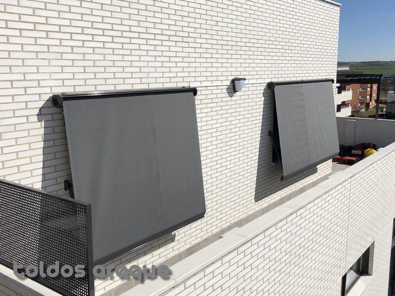 Empresa Toldos en Madrid toldos instaladores Araque Instalación de 2 Toldos Cofre Portada Motorizados en Pinto-Madrid Trabajos realizados