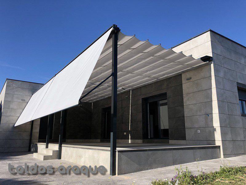 Instalación Pérgola 100 x 100 en Valdemorillo – Madrid
