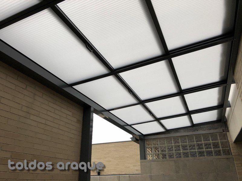 Empresa Toldos en Madrid toldos instaladores Araque Instalación de Techo Móvil en Valdemoro-Madrid Trabajos realizados