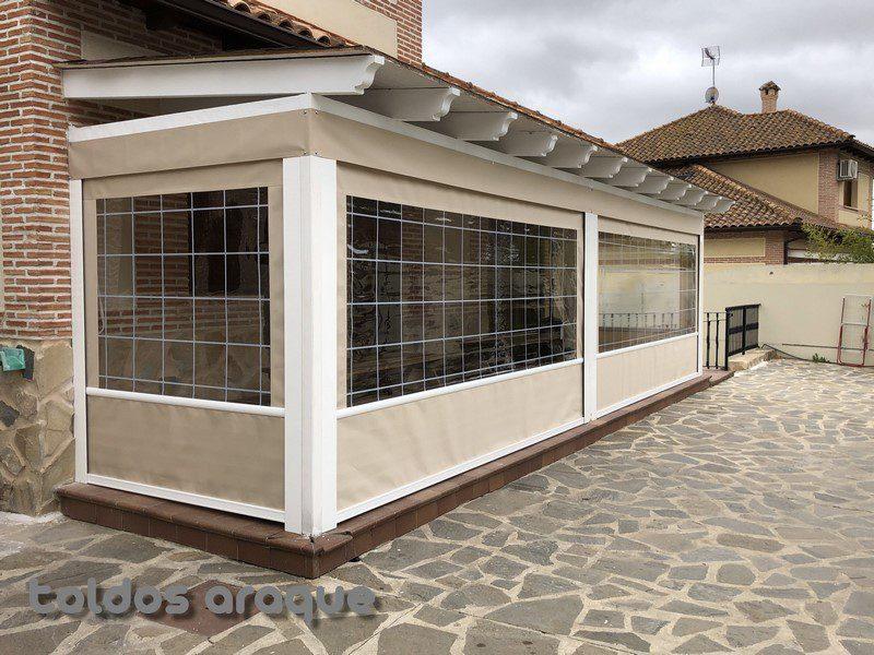 Instalación de 4 Toldos Cortavientos en Seseña-Toledo