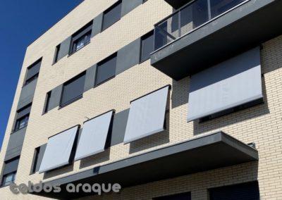 Empresa Toldos en Madrid  instaladores  TOLDO PORTADA COFRE MADRID