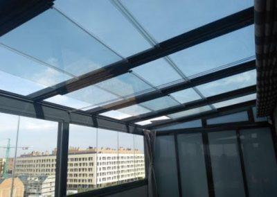 Empresa Toldos en Madrid toldos instaladores Araque TECHO MOVIL SIN PERFILERIA HORIZONTAL MADRID