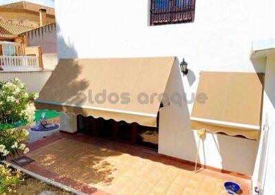 Empresa Toldos en Madrid  instaladores  TOLDO PORTADA MADRID